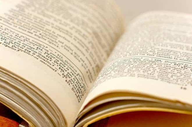 l'intérieur d'un livre restauré
