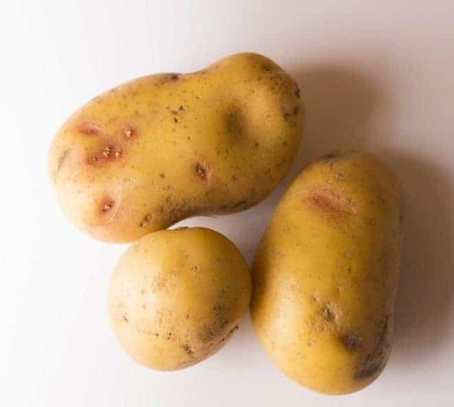trois pommes de terre