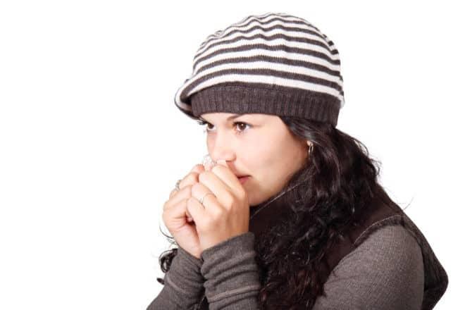 personne souffrant d'une bronchite