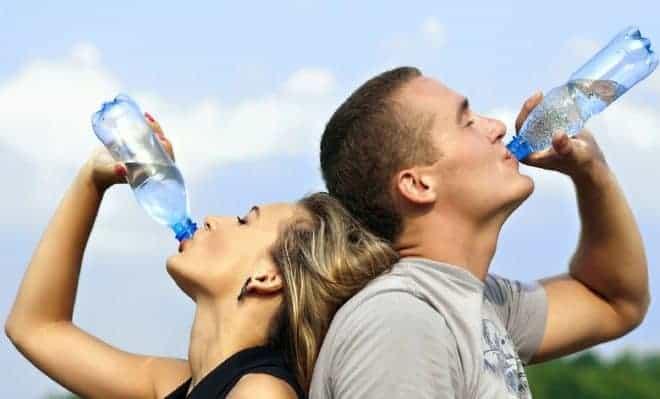 Il faut boire de l'eau