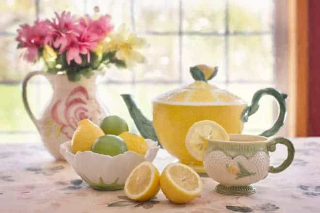 Une bonne tasse de thé