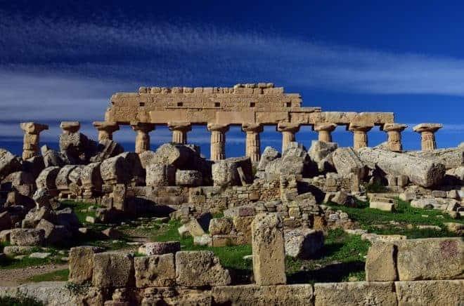 Ruine temple Grec