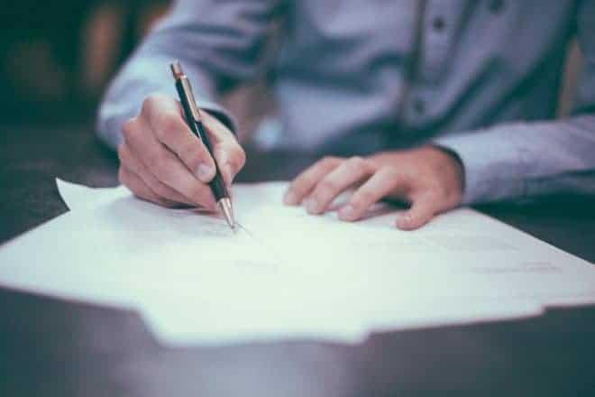 Papier et stylo
