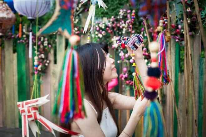 Chinoise et décoration