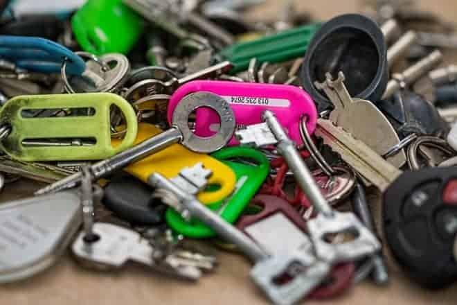 Des clés
