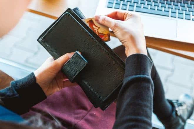 Portefeuille, carte bancaire