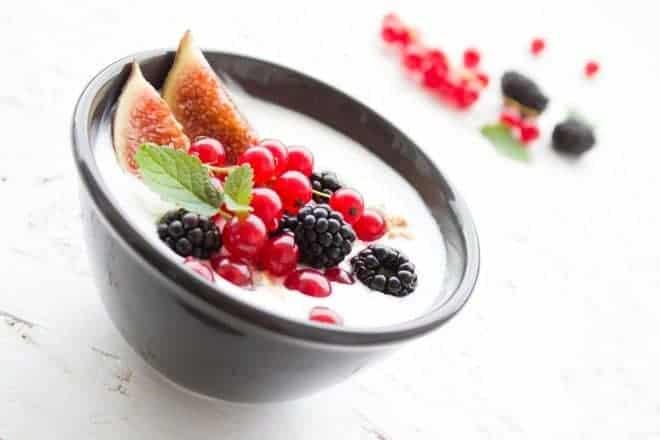 Yaourt,fruit