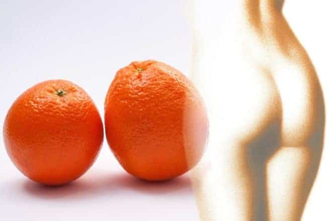 Orange, silhouette femme