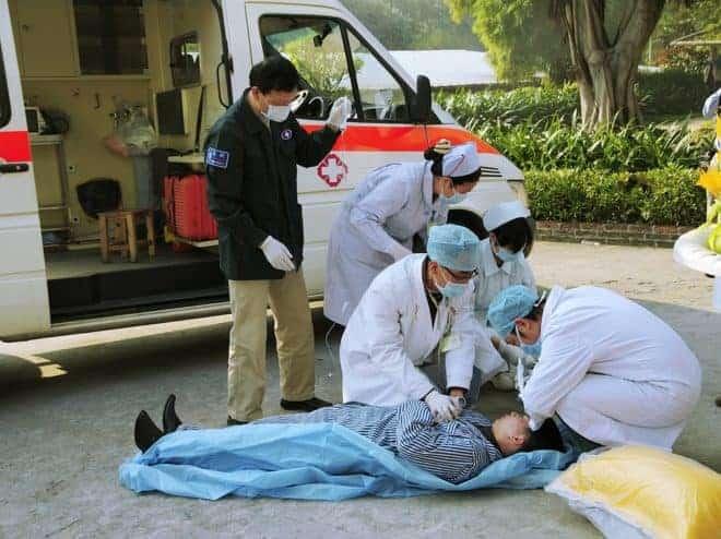 Secouriste, ambulances