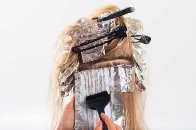 Colorer cheveux