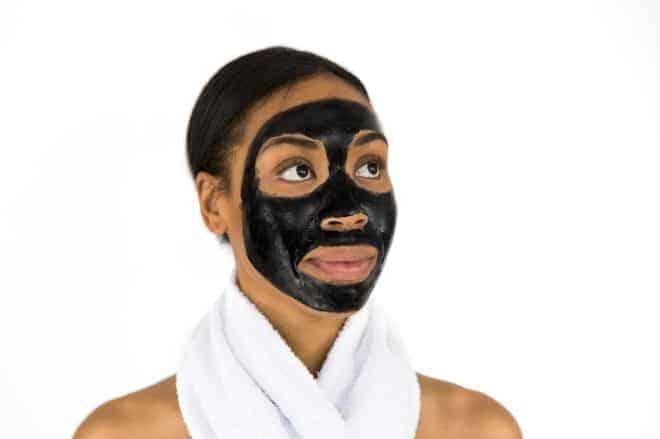 Femme, black mask