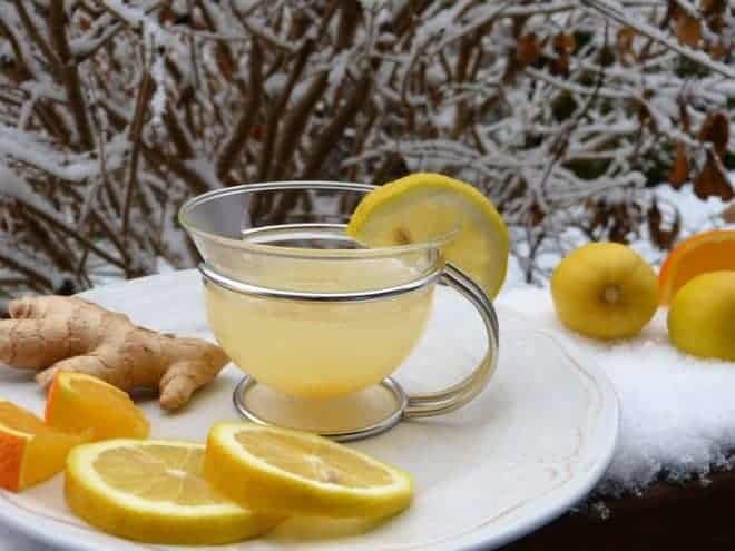 Citron gingembre, tasse
