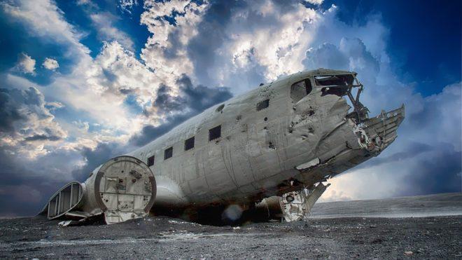 Avion, épave