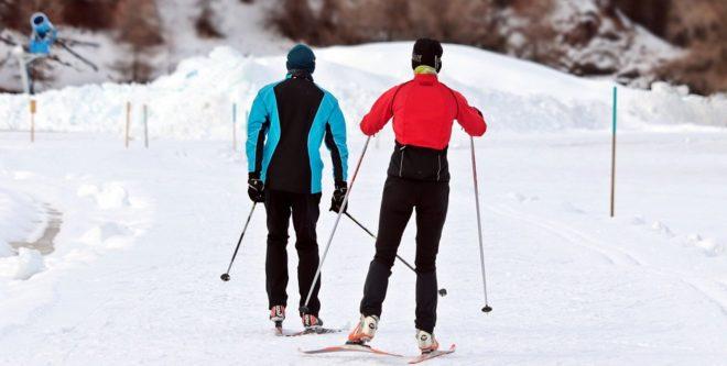Ski de fond.