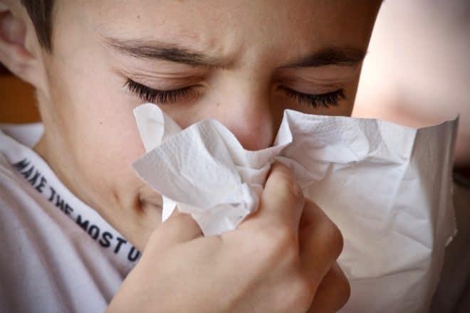 Un rhume.